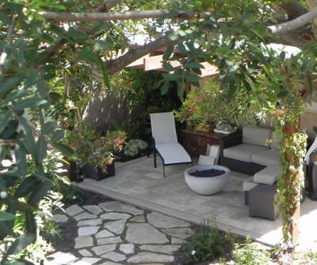 outdoor patio - rancho palos verde